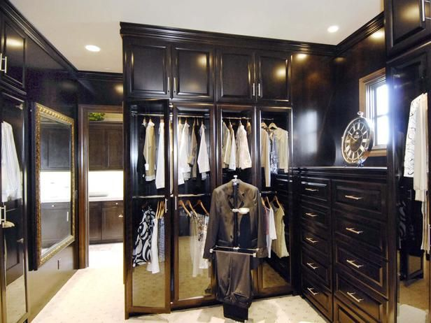 The Tides- 2006 Master Closet    Mahogany Closet : Pro Galleries : HGTV RemodelsDream Closets, Walks In Closets, Master Closets, Mahogany Closets, High End Closets, Closets Victorian, Pro Gallery, Dreams Closets, Beautiful Closets