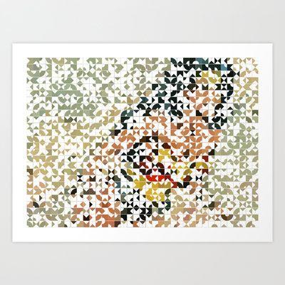 Wonder Art Print by Robotic Ewe - $21.00
