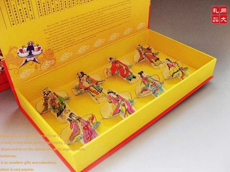 Free shipping Gift box weifang kite chinese style unique crafts