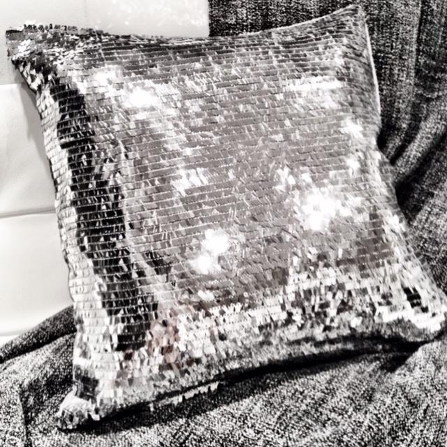 My disco pillow from Urban Barn 8.99 each