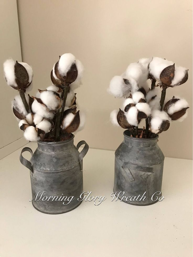 Excited to share the latest addition to my #etsy shop: Cotton Boll Arrangement. 2nd year anniversary gift. Rustic Decor. Farmhouse decor. Country. Home decor. Cotton Arrangement. Cotton stems. #housewares #homedecor #anniversary #christmas #entryway #metaltinarrangemen