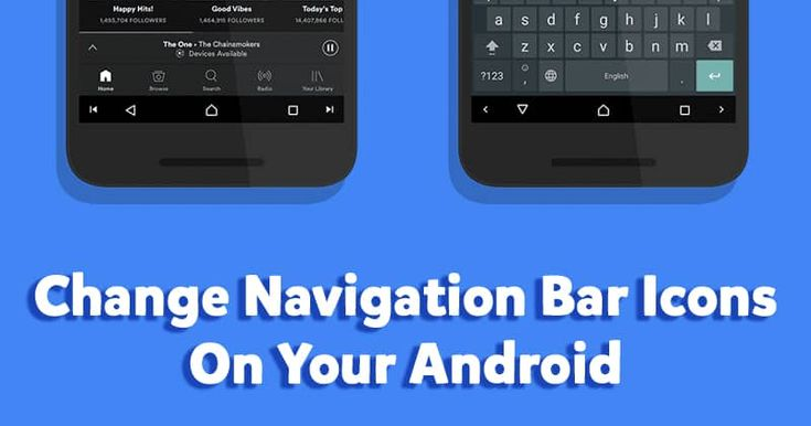 How To Change Navigation Bar Icons On Android Navigation