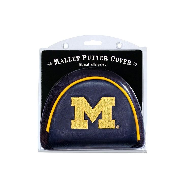 Michigan Wolverines Ncaa Putter Cover - Mallet