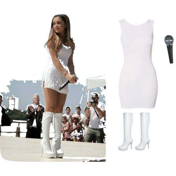 A fashion look from June 2014 featuring John Zack dresses and Anna Field boots. Browse and shop related looks.