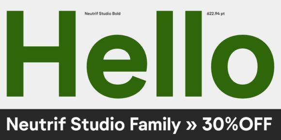 Font dňa – Neutrif Studio   https://detepe.sk/font-dna-neutrif-studio?utm_content=buffere510f&utm_medium=social&utm_source=pinterest.com&utm_campaign=buffer