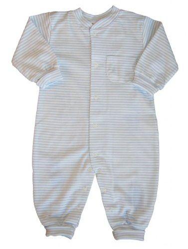 c6b940d7509e Kissy Kissy Playsuit Simple Stripes - Blue -- blue size  12-18 ...