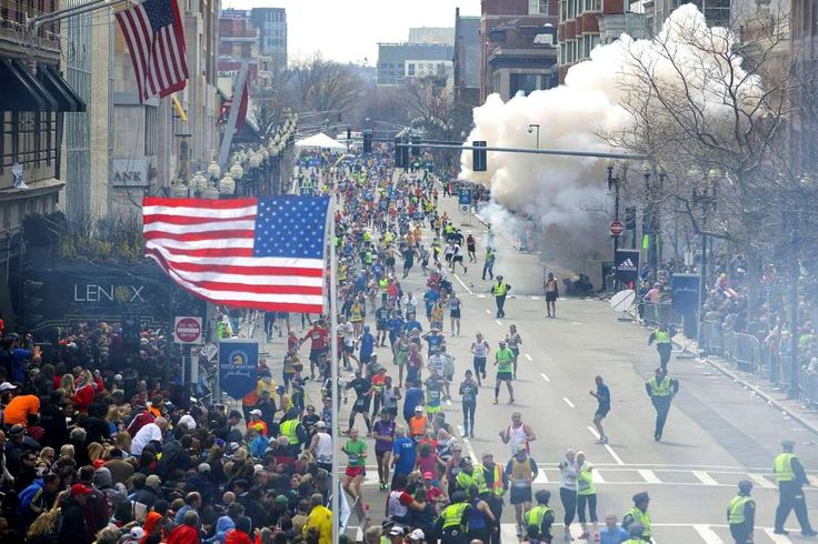 April 15, 2013: BOSTON MARATHON BOMBING - Two bombs explode at the Boston Marathon finish line, killing two women and an 8-year-old boy and injuring more than 260.