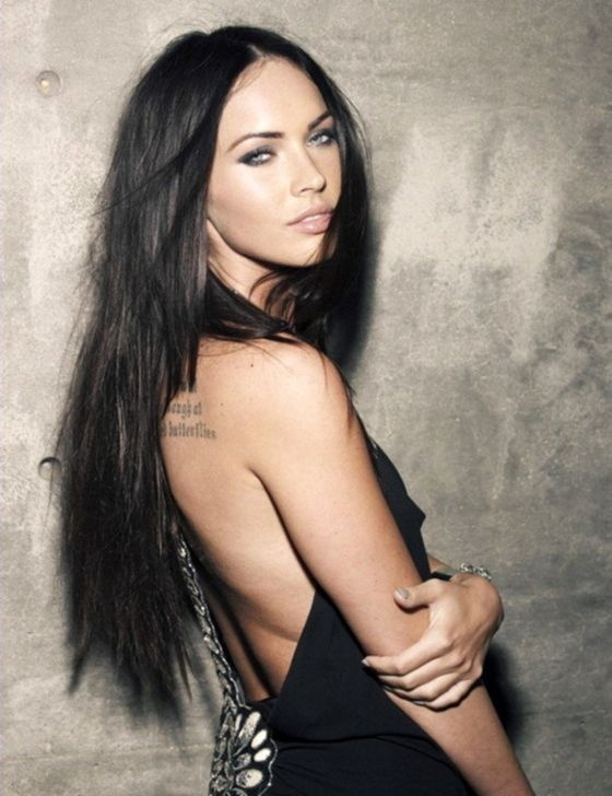 Love Megan's Smouldering Eyes and Pin straight Hair Stunning Beauty