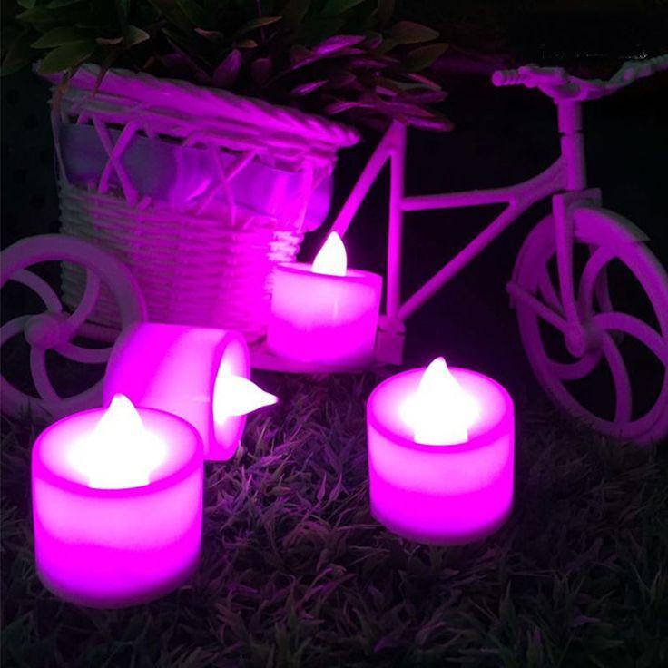 Купить товар1 шт. беспламенные свечи янтарный дистанционного управления из…