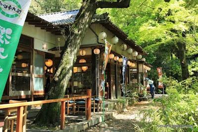 Soba restaurant, Jindaiji