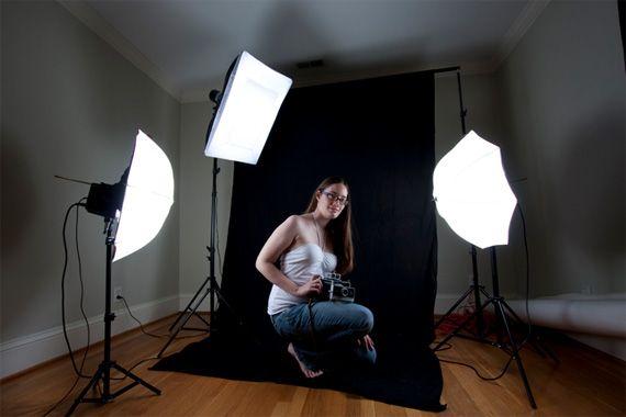 правильный свет для фотосессии дома своими руками лишь через