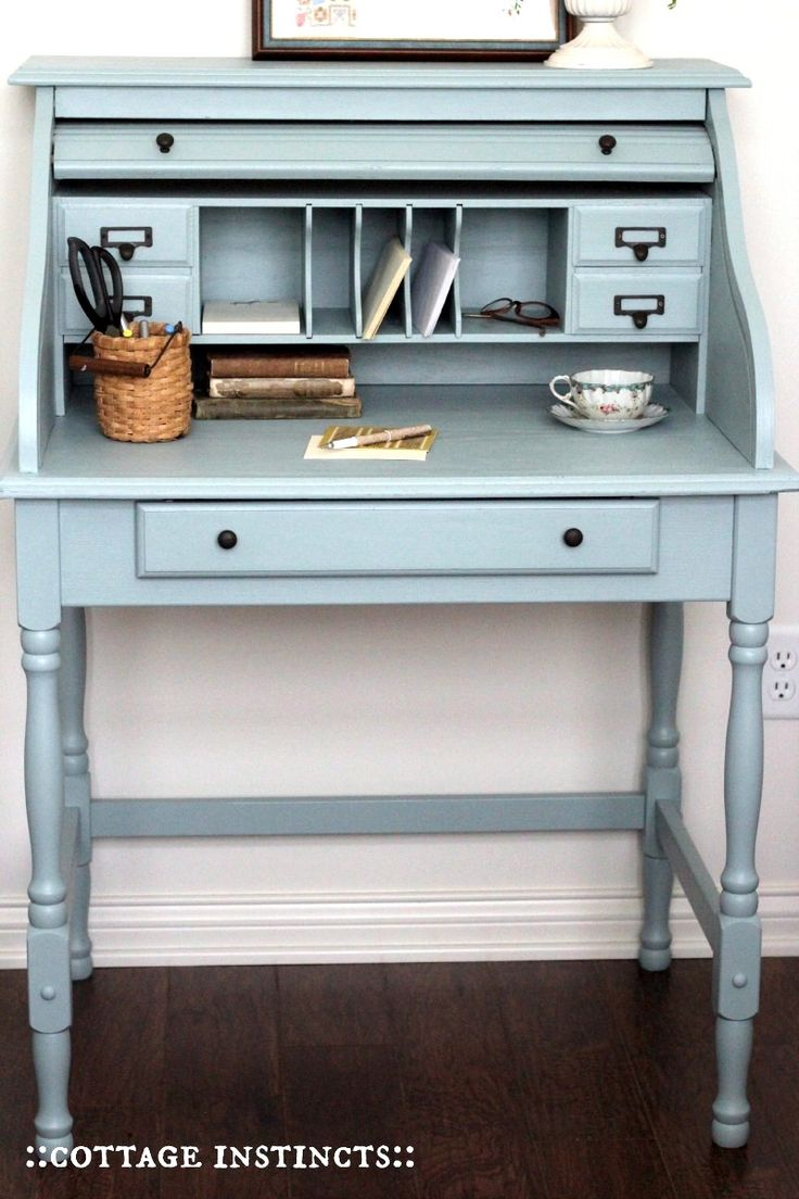 Color Inspiration Mondays #DIY #paintedfurniture #colorinspiration #elegance - www.countrychicpaint.com/blog