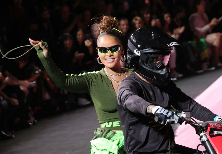 New top story from Time: Ashley HoffmanRihanna Defining Transportation Goals on a Motorbike Is a Gift to the Internet http://time.com/4935748/rihanna-nyfw-motorbike/| Visit http://www.omnipopmag.com/main For More!!! #Omnipop #Omnipopmag