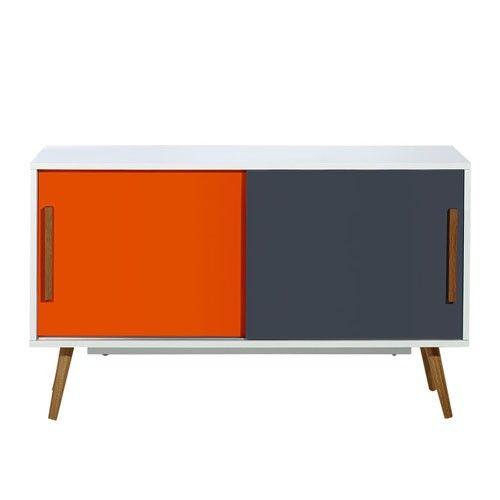Vasby Sideboard - 2 Door - Retro - Scandinavian Furniture   Milan Direct
