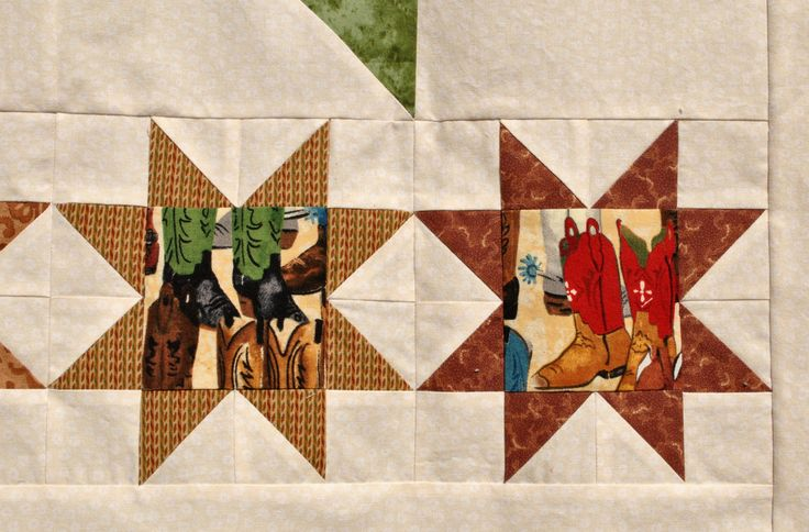 Detail of donation baby quilt
