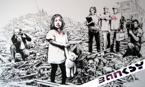 El polémico arte olímpico de Banksy sería destruído. - Taringa!