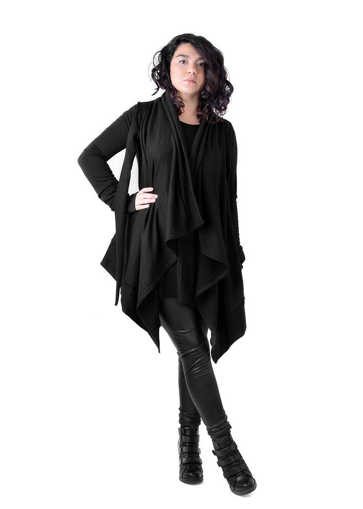 DRAPE MANTEAU by Alyenwear #black #fashion