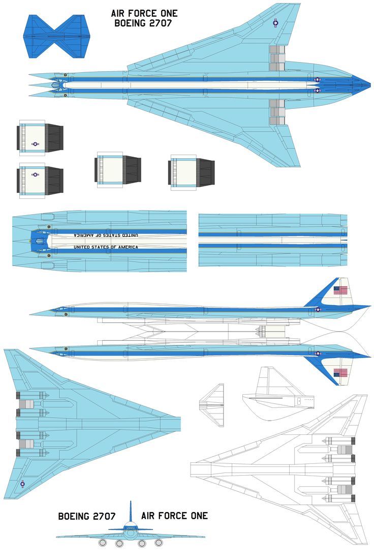 4d model template of boeing 2707   4dpa   boeing2707sst