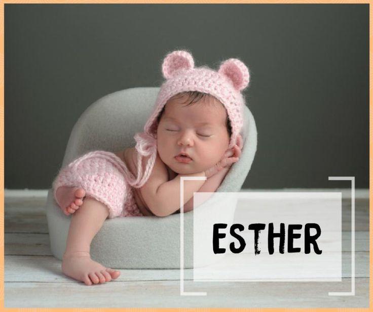 Resultado de imagen para niñas con nombre de Esther