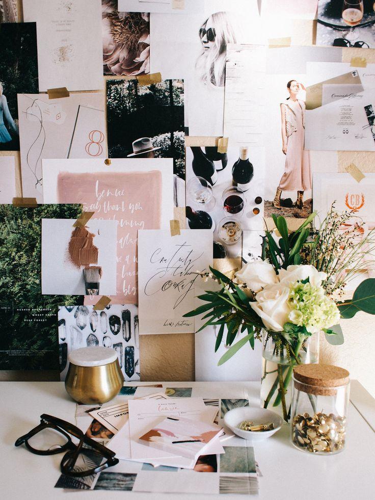 Home office vignette | A Fabulous Fete