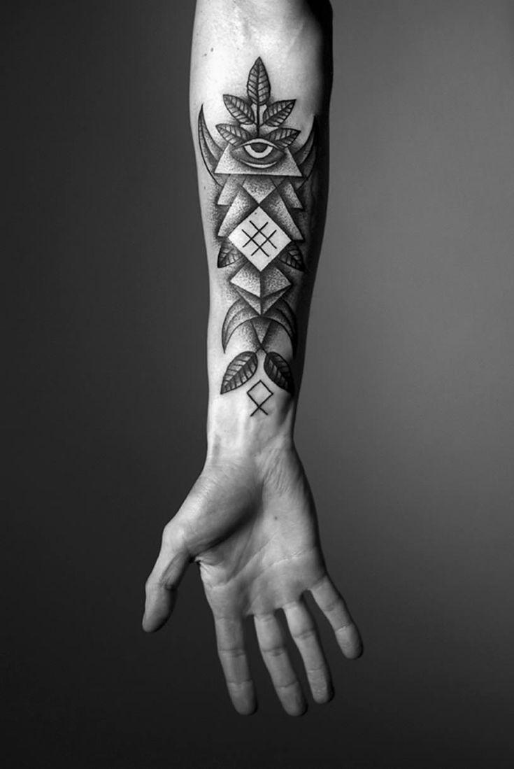 Lars krutak tatu lu tattoos from the dreamtime lars krutak - The Skull Drumstick Cross