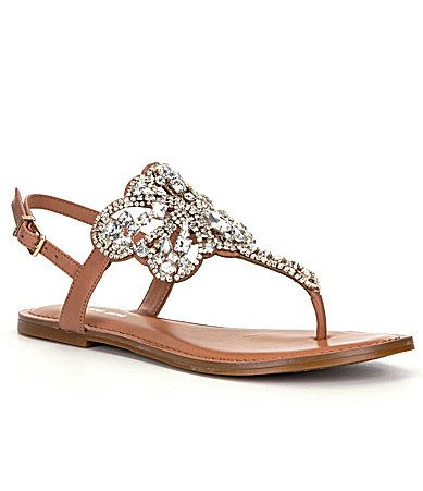 Gianni Bini Adorra Jeweled Sandals Dillards My Style
