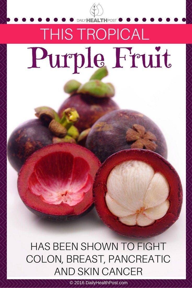 healthy fruit salad purple fruit