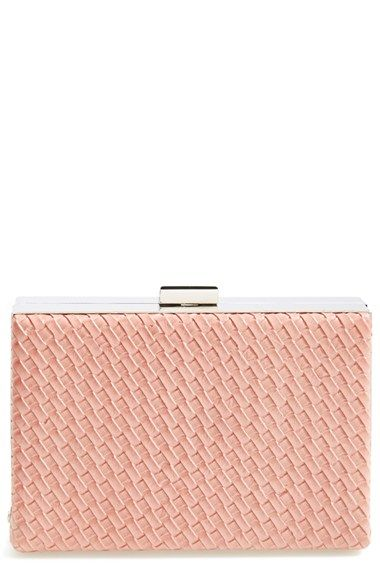 Natasha Couture Woven Box Clutch available at #Nordstrom