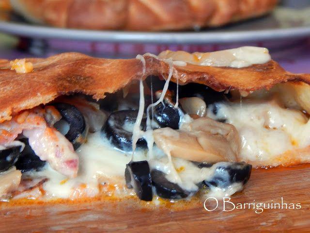Pizza Calzone de Outono