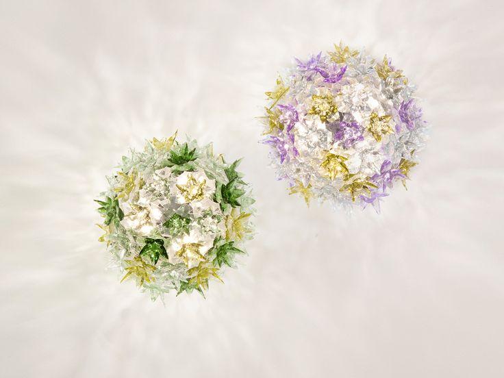 Kartell Bloom Ceiling & Wall Light