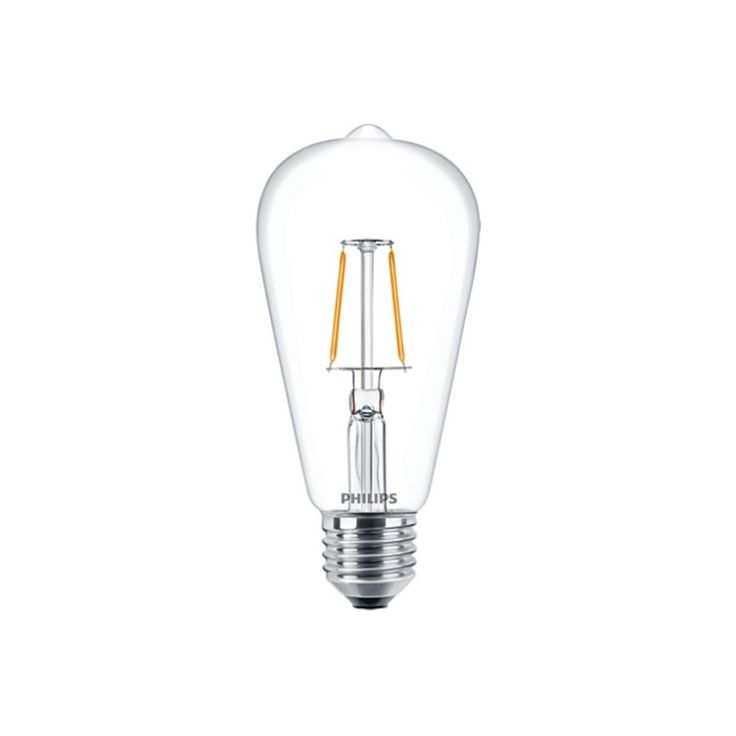 Dedeman Bec LED cu filament Philips ST64 E27 25W lumina calda - Dedicat planurilor tale