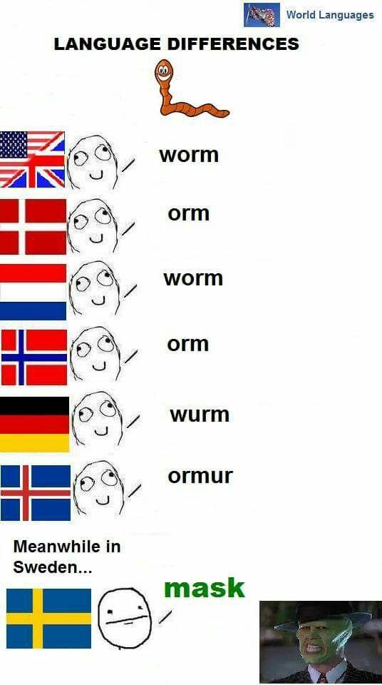 Svensker, altså...
