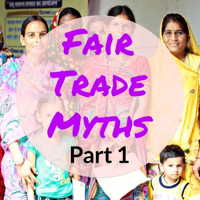 We have come across a few key fair trade myths we'd like to clarify. First is the myth that fair trade costs more.