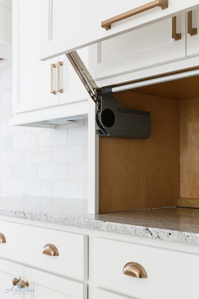 Countertop Appliance Garage : 25+ best ideas about Appliance Garage on Pinterest Appliance cabinet ...