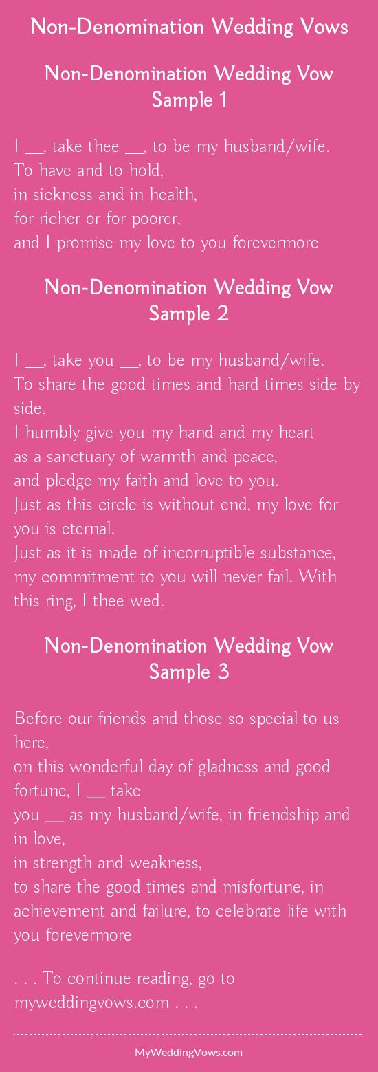 241 best wedding vows images on Pinterest | Casamento, My love and ...