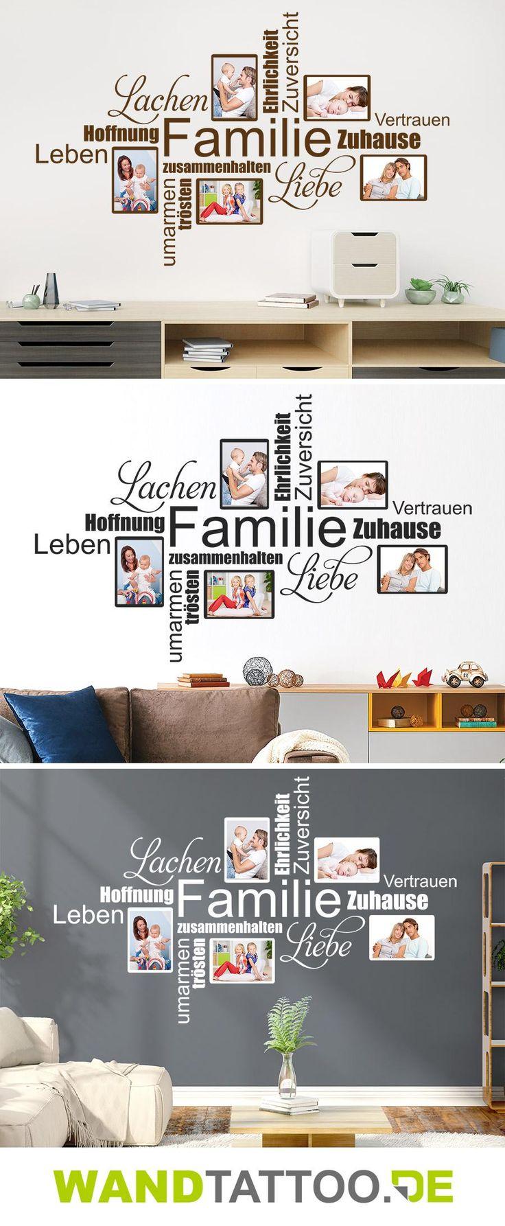 Spectacular Fotorahmen Wortwolke Familie
