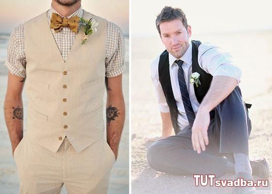 Стильные свадебные костюмы жениха