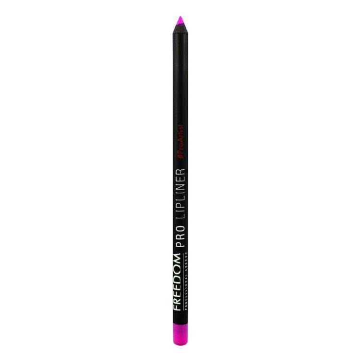 Freedom Makeup London Freedom Pro Lipliner Pink  Defiinier omlijn en vul je lippen in met dit lippotlood.  EUR 1.99  Meer informatie