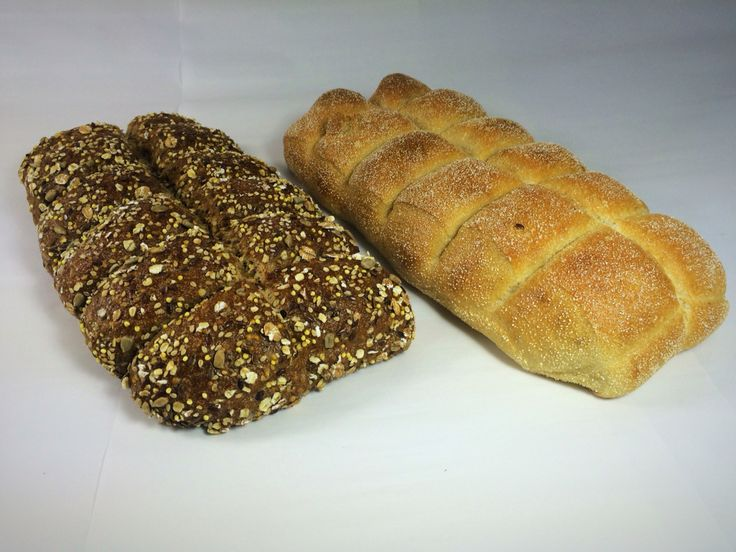 Breekbrood desem meergranen en wit!!