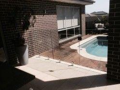 Frameless glass pool fence Gregory Hills, Sydney