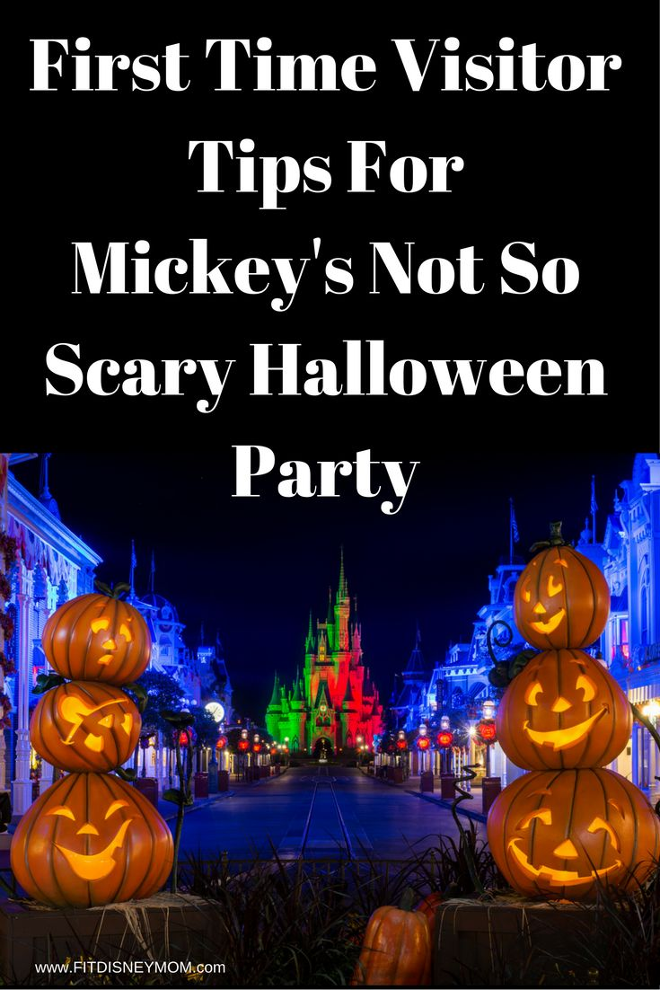 Guide For Your 1st Mickey's Not So Scary Halloween Party