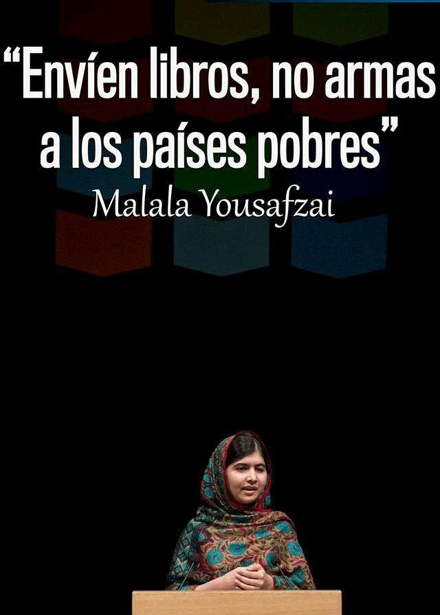 Ese fue el mensaje de Malala Yousafzai, Premio Nobel de la Paz 2014, a los dirigentes mundiales en la cumbre Forbes Under 30, donde abogó por la educación de los niños para cambiar el mundo.