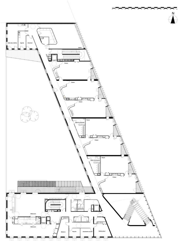 "Primary School & Nursery in the ""Claude Bernard"" ZAC / Atelier d'Architecture Brenac-Gonzalez"