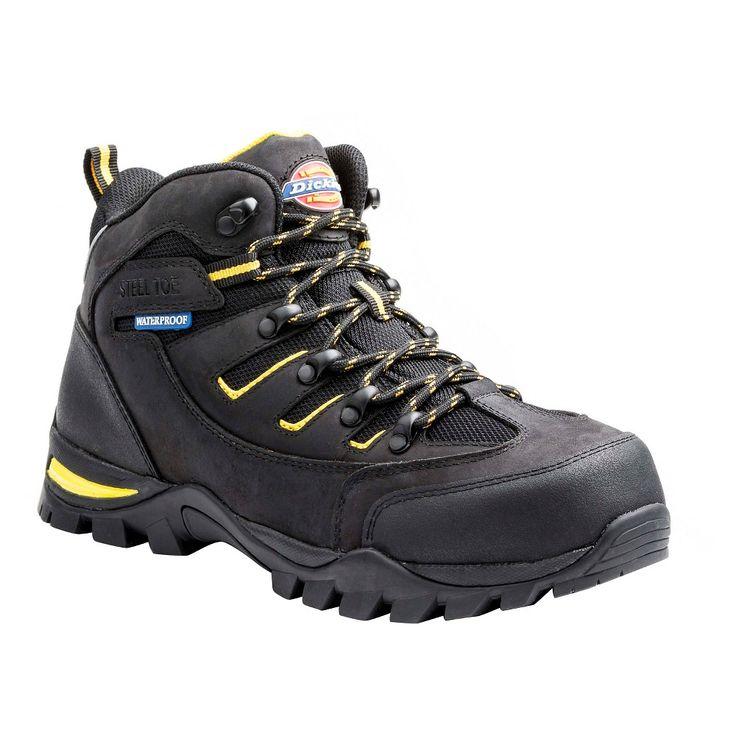 Men's Dickies Sierra Work Boots - Black 10.5