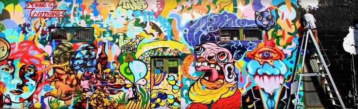 Graffiato, Taupo, New Zealand.  Taken by Tracie Angell.