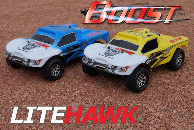 Got a need for speed? Two new Litehawk R/C racers will blow your hair back!