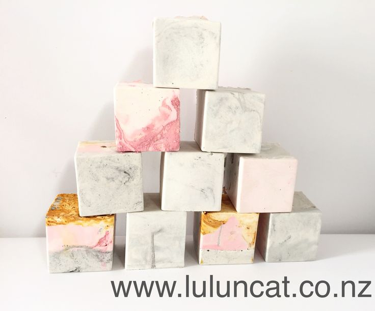 Marble Cubes (4 pack)
