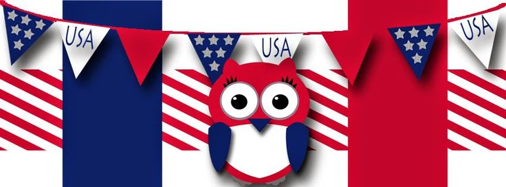 happy 4th of july owl images