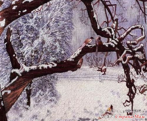 Вышитые картины Нгуена Тьен.