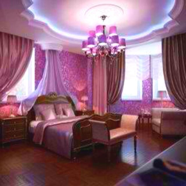 Purple master bedroom | Home Decor' | Pinterest